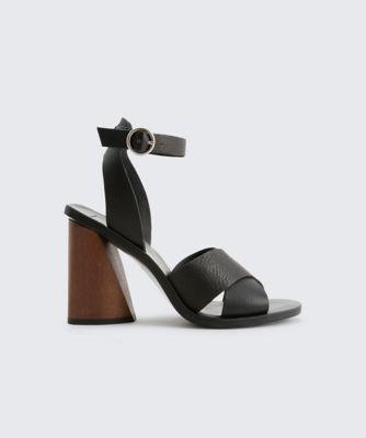 Dolcevita heels athena black side