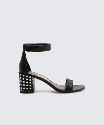 Dolcevita heels dorah black side