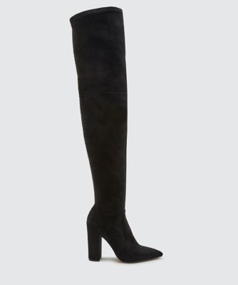 EMMY OVER-THE-KNEE BOOTS BLACK