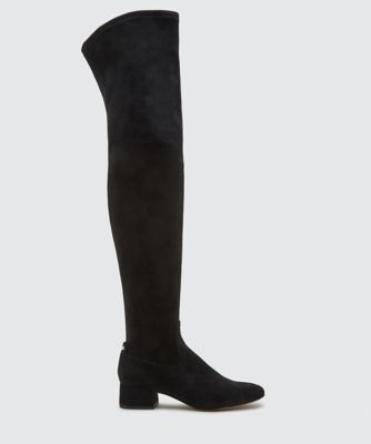 JIMMY OVER-THE-KNEE BOOTS BLACK