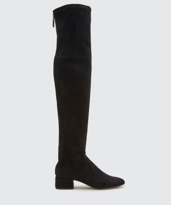 JORDEN OVER-THE-KNEE BOOTS BLACK