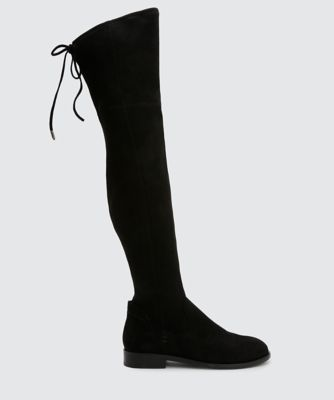 NEELY OVER-THE-KNEE BOOTS BLACK