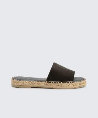 Dolcevita sandals bobbi black side