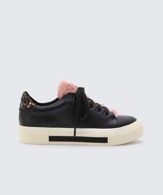 Dolcevita sneakers cabel black side