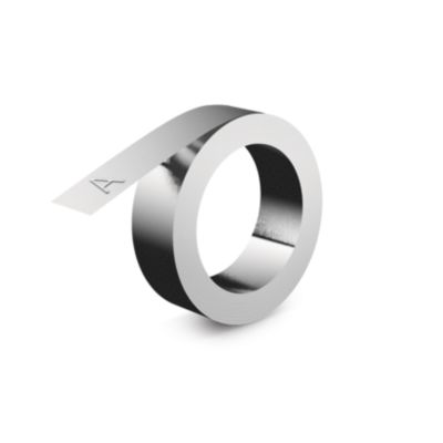 IND Embossing Aluminum Label, 12mm x 4m