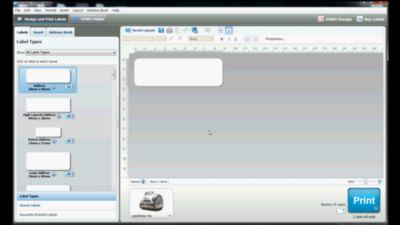 dymo label v8 software