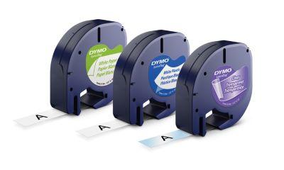 LT Tape 3 pack Paper/Plastic/Metallic