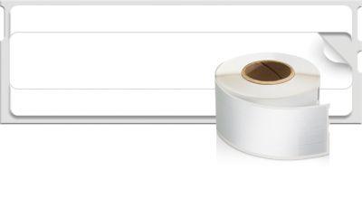Étiquettes  LW pour dossiers et classeurs, 50 mm x 12 mm