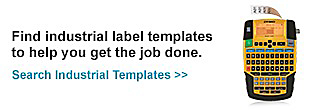 Find industrial label templates to help you get the job done.