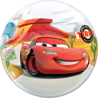 Palloncino Bubble Disney Pixar Cars