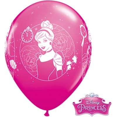 Set 6 globos, princesa Disney