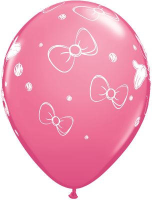 Minnie Mouse Balloons, Pack of 6