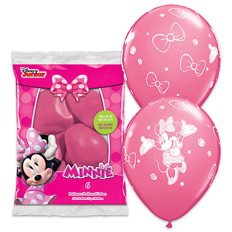 Minnie Maus - Luftballons, 6er-Pack