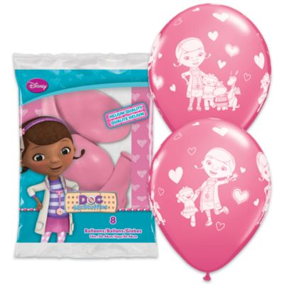 Doktor McStuffins balloner, pakke med 6 stk.