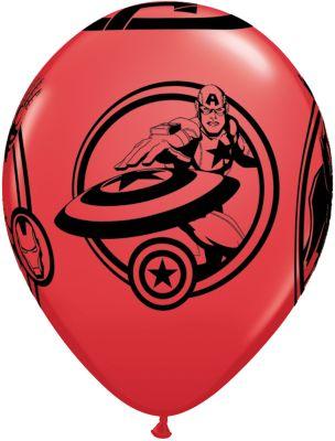 Avengers balloner, pakke med 6 stk.