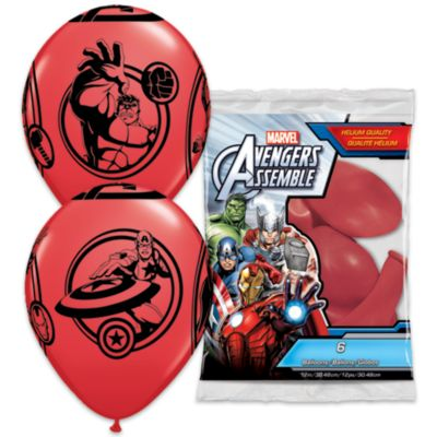 Avengers Balloons, Pack of 6
