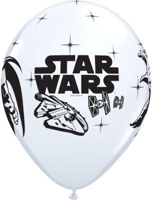 Star Wars balloner, pakke med 6 stk.