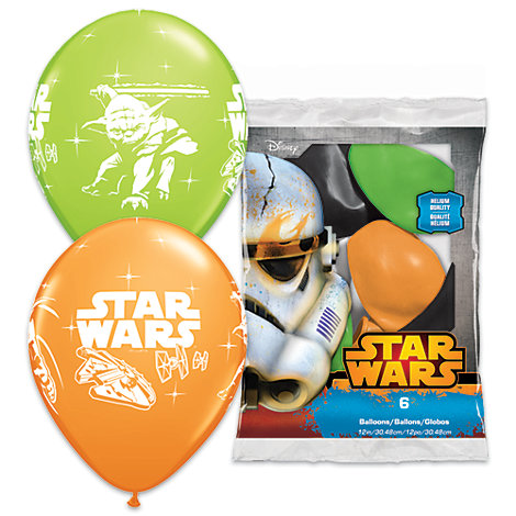 Star Wars Balloons, Pack of 6
