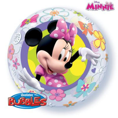 Rund Minnie Mouse ballon