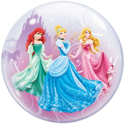 Ballon bulle Princesses Disney