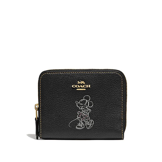 Coach Minnie Mouse Motif Black Purse