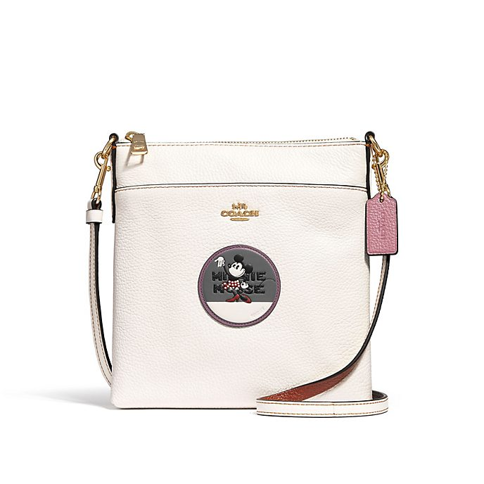 Coach Minnie Mouse Messenger Crossbody Bag