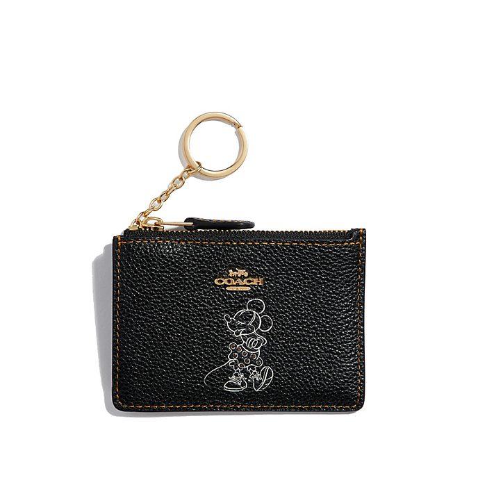 Coach Minnie Mouse Motif Black Cardholder
