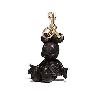 Abalorio negro para bolso Minnie, Coach