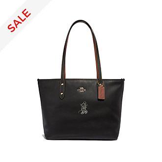 Coach Minnie Mouse Motif Black Tote Bag