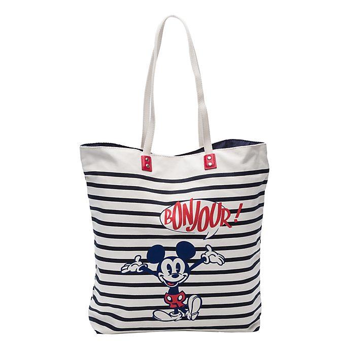 Disneyland Paris Bonjour Striped Bag
