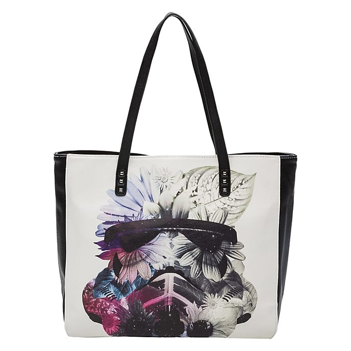 Sac Stormtrooper fleurs Loungefly