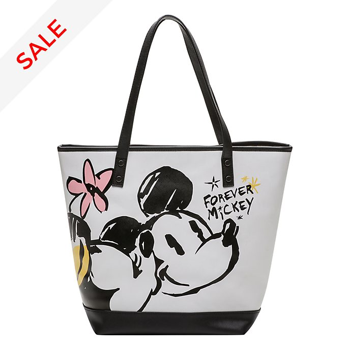 Disneyland Paris Mickey and Minnie Tote Bag