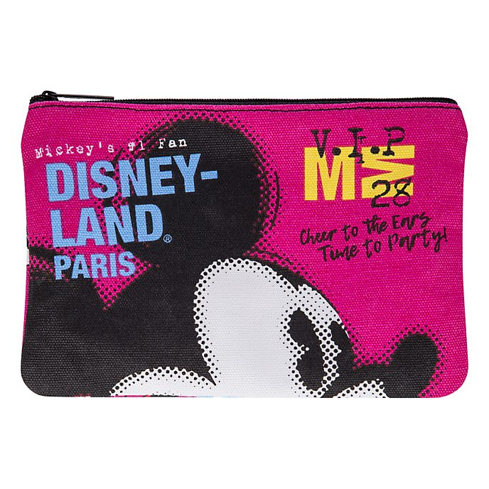 Disneyland Paris Mickey Mouse Wash Bag