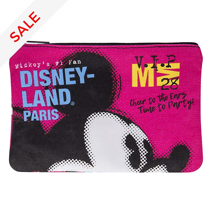 Disneyland Paris Mickey Mouse Wash Bag
