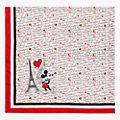 Châle Paris Mon Amour Disneyland Paris