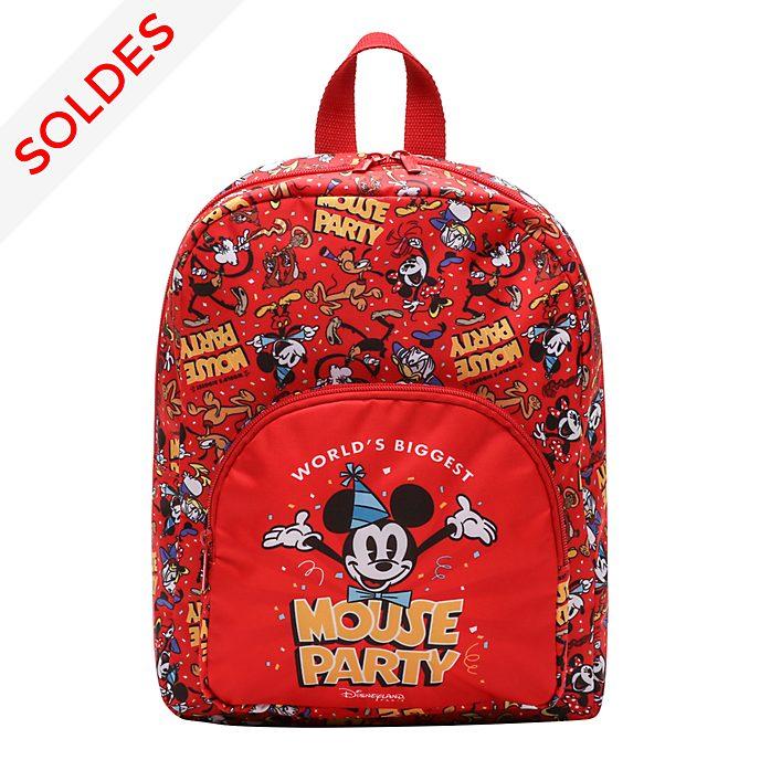 Disneyland Paris Sac à dos Mickey rouge