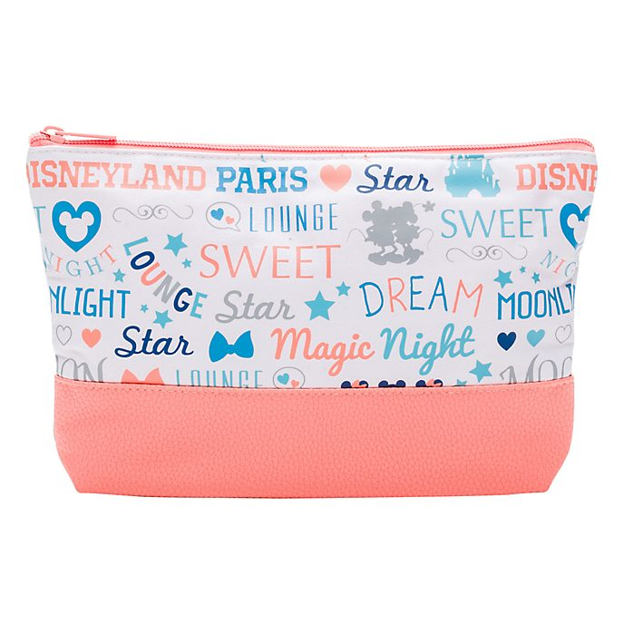 Disneyland Paris Mickey Toiletry Bag