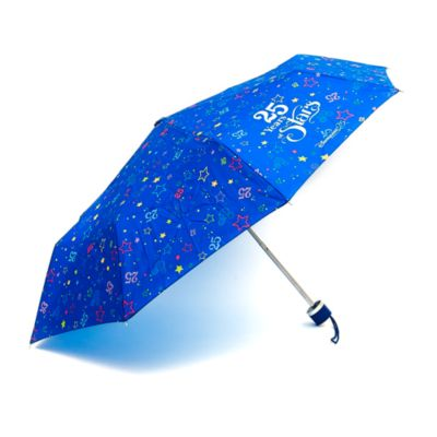 Disneyland Paris 25th Anniversary Compact Umbrella