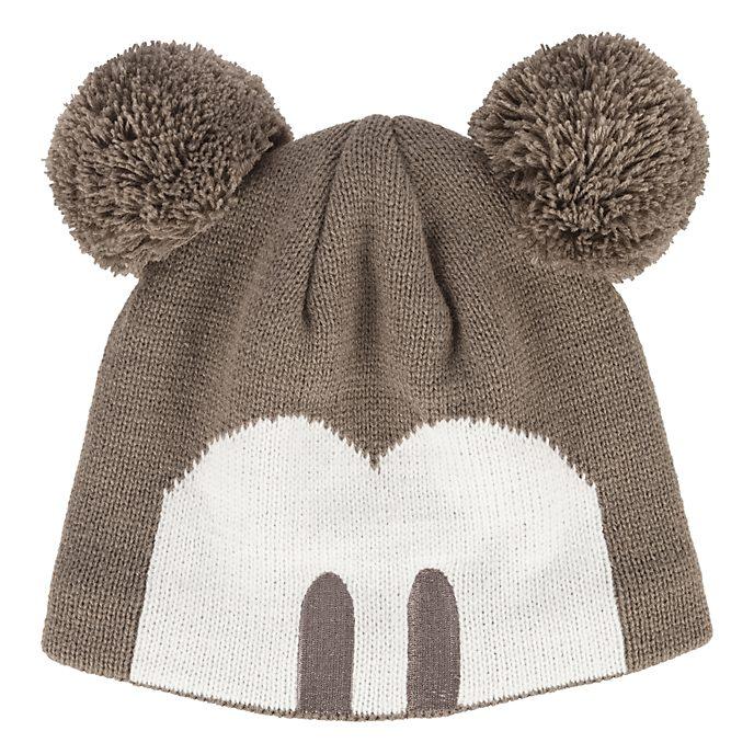 Bonnet oreilles pompon pour adultes Mickey Mouse Disneyland Paris