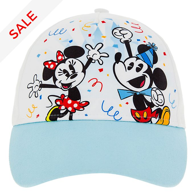 Disneyland Paris Mickey and Minnie Cap For Kids