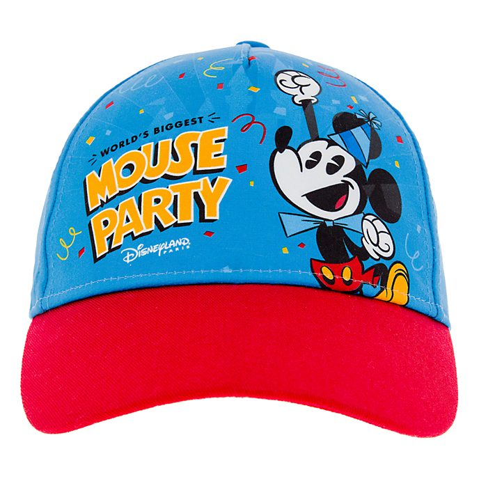 Disneyland Paris Mickey Mouse Blue Cap For Kids