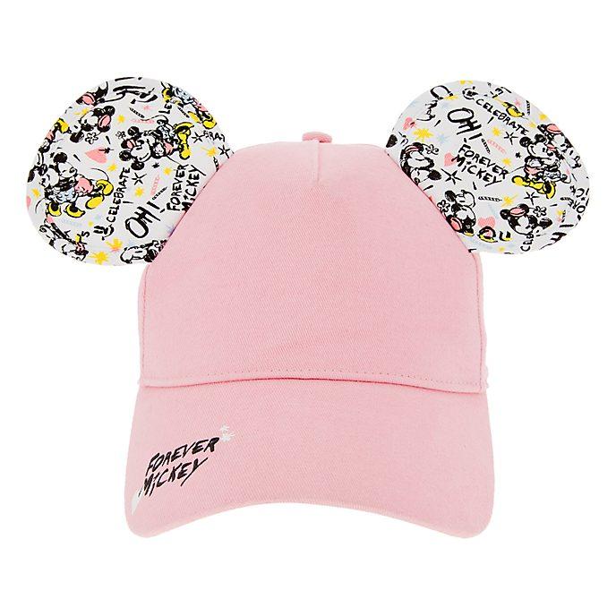 Disneyland Paris Casquette Mickey et Minnie rose pour adultes