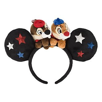 Disneyland Paris Mickey Mouse Chip'n'Dale Ear Headband