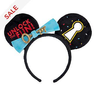 Disneyland Paris Mickey Mouse Key Ears Headband For Adults
