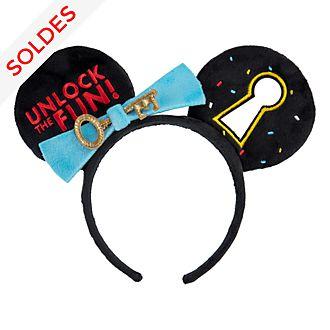 Disneyland Paris Serre-tête Mickey clé et oreilles pour adultes