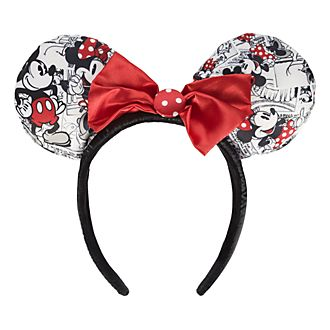 Disneyland Paris Timeless Mickey & Minnie Ear Headband