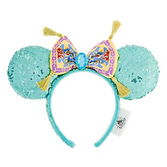 Disneyland Paris Princess Jasmine Ears Headband For Adults
