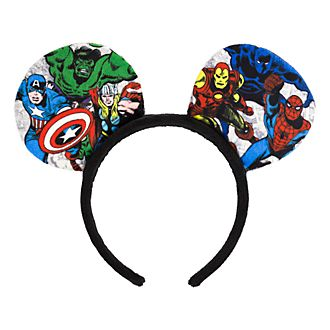 Disneyland Paris Marvel Comics Ear Headband