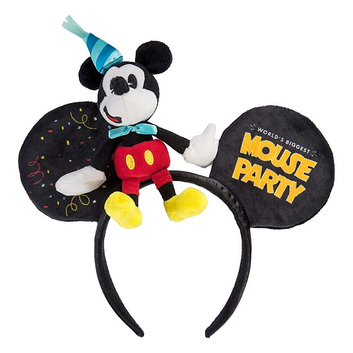 Disneyland Paris Serre-tête oreilles Fête de Mickey pour adultes