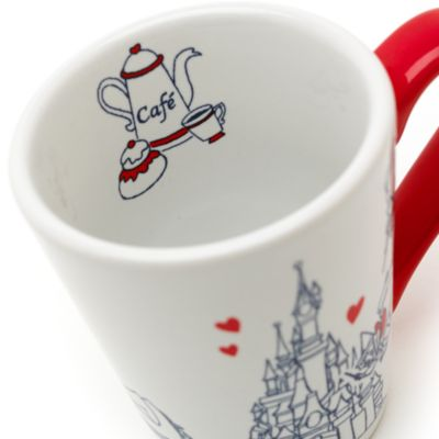 Disneyland Paris Cityscape Espresso Cups, Set of 2